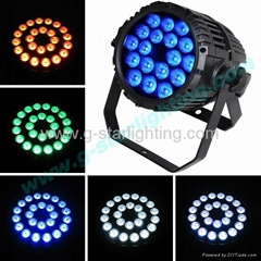 Outdoor 5 in 1 18X12W leds par can/led par lights/led stage lighting