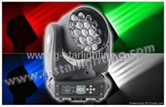19LEDs zoom beam moving head light/led beam light/stage lights
