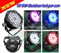outdoor 18*10W(4in1) flatled par can/led
