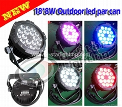 outdoor 18*10W(4in1) flatled par can/led light/stage light/
