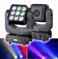 9*12W Led-Matrix Moving Head Beam light/