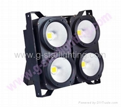 New 4 eyes led audience blinder light 4*100w 2in1/4in1 COB led studio light