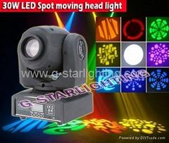10W/30W LED 图案摇头灯/LED 舞台效果灯