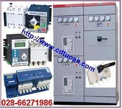 四川雙電源自動切換開關設備 DPT160-CB010 R100 3P