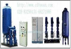 四川恆壓供水設備MD380T3.5GB變頻器電器櫃
