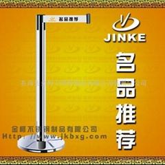 供应金柯银行不锈钢伸缩带一米线lg-020b