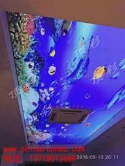 北京软膜天花吊顶 软膜灯箱 动感灯箱