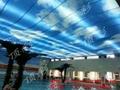 北京室内张拉膜吊顶 透光膜 张