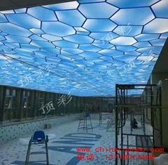 唐山洗浴吊頂 游泳館吊頂 燈箱膜