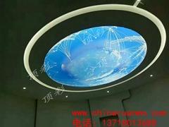 北京拉膜軟膜天花 軟膜動感燈箱 透光膜