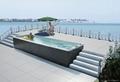 蒙娜麗莎戶外浴缸獨立式spa衝