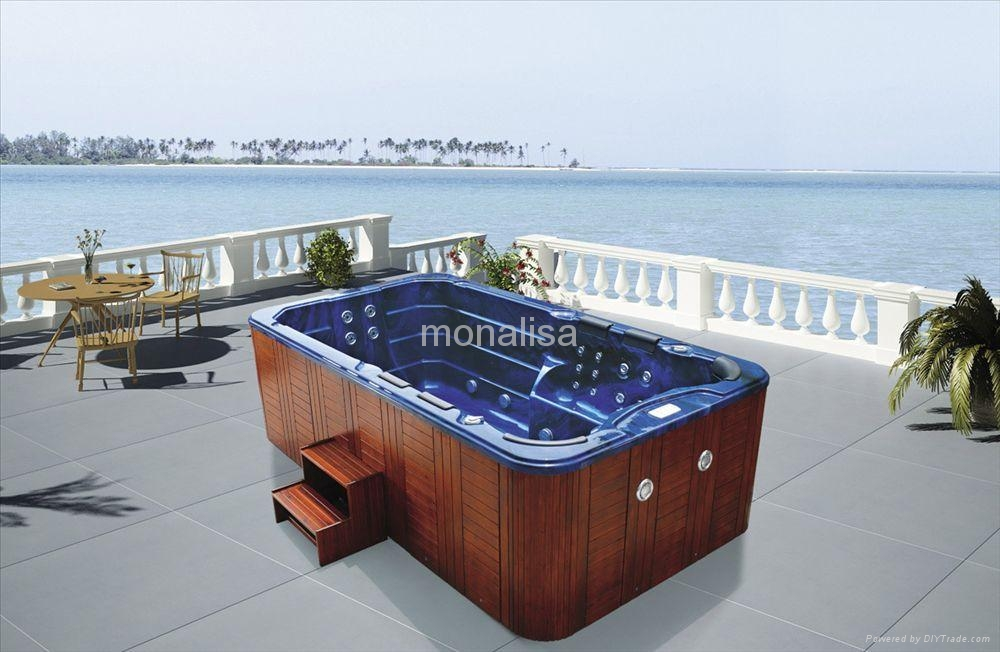 Outdoor Spa Whirl Pool Swimming Pool Hot Tub Jacuzzi M 3337 Spa M 3337 Monalisa Spa China