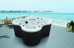 outdoor spa massage bathtub, hot tub jacuzzi M-3353