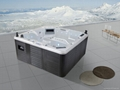 6 people factory hot selling USA balboa hot tub spa M-3349 whirlpool outdoor mas 1