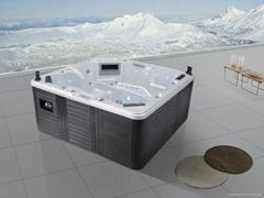 戶外SPA  亞克力按摩浴缸  水療浴缸 M-3349