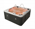6 people factory hot selling USA balboa hot tub spa M-3349 whirlpool outdoor mas 3