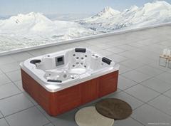 4人户外SPA  亚克力按摩浴缸  水疗浴缸 M-3343