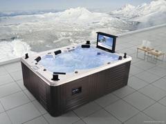 戶外SPA  亞克力按摩浴缸 水療浴缸 M-3342
