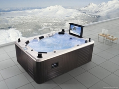 Luxury outdoor spa M-3342