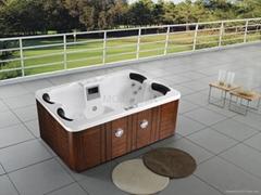 户外SPA  亚克力按摩浴缸  水疗浴缸 M-3332