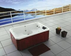 户外SPA 亚克力按摩浴缸 水疗浴缸 M-3331