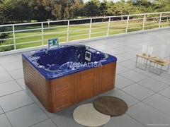 户外SPA 亚克力按摩浴缸 水疗浴缸 M-3321A