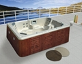 long and cheap outdoor spa  M-3319