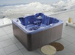 户外SPA  亚克力按摩浴缸 水疗浴缸