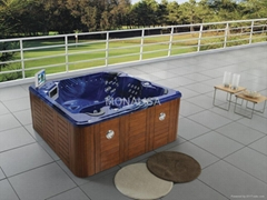 outdoor spa  with neck massage 110 jets M-3314A