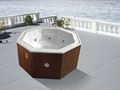 round outdoor spa M-3302