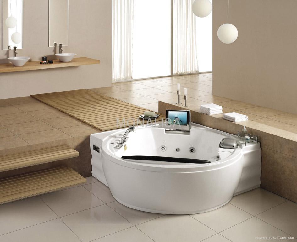 Massage bathtub bathroom hot tub m 2027 china for Indoor bathroom hot tubs
