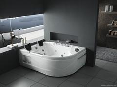亚克力按摩浴缸 水疗浴缸  泡泡浴