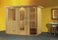 Sauna house steam room M-6005
