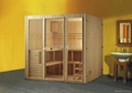 Sauna house steam room