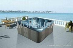 Outdoor spa for 7 persons (M-3366)