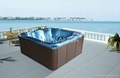 Outdoor spa for 5 persons (M-3362)