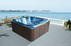 蒙娜麗莎浴缸 戶外浴缸多人按摩浴缸 亞克力獨立式衝浪浴缸M-3362