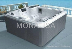 Outdoor spa for 4 persons (M-3364)
