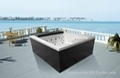 Outdoor spa for 3 persons (M-3369)