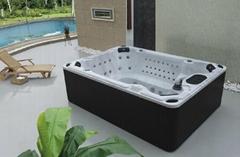 蒙娜麗莎浴缸戶外浴缸豪華進口亞克力spa按摩浴缸衝浪浴缸M-3303