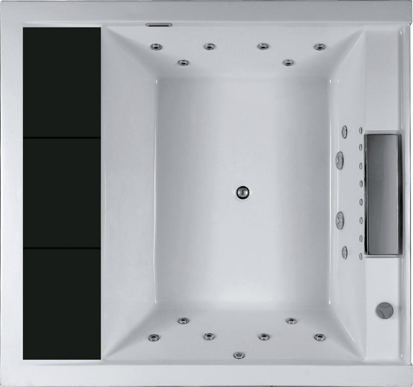 jacuzzi, indoor spa, massage bathtub, hot tu