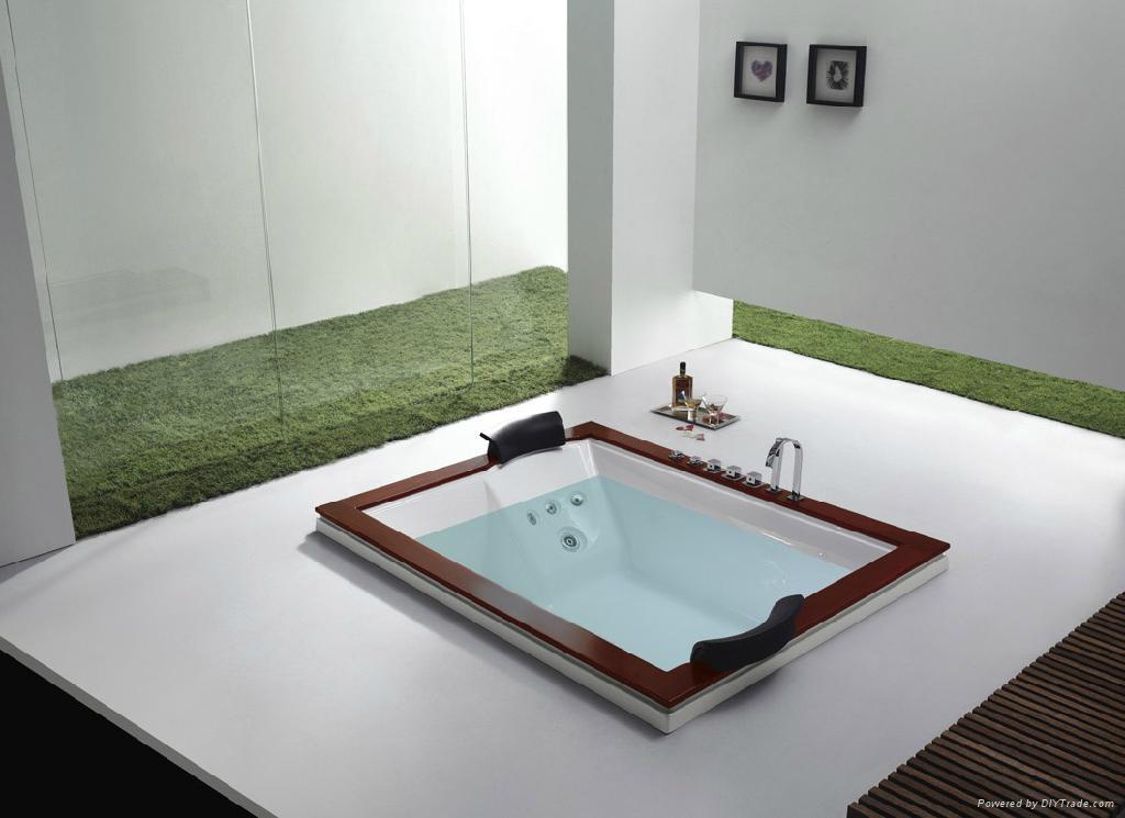 Massage bathtub bathroom bath hot tub m 2036 china for Indoor bathroom hot tubs