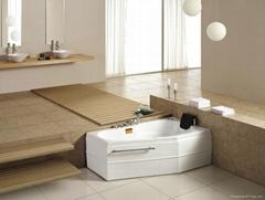 Massage bathtub bathroom