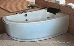 Massage bathtub bathroom