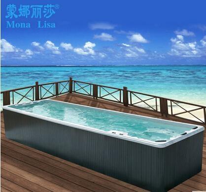 Long Outdoor Spa Swimming Whirlpool Pool Massage Bathtub