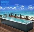 7.8M Monalisa Long Swimming Whirlpool Pool Balboa Outdoor spa (M-3325)