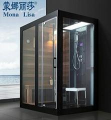 蒙娜丽莎整体淋浴房隔断桑拿房蒸汽房淋浴房洗浴房冲凉房M-8287