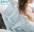 蒙娜丽莎泳池浴缸 多人按摩浴缸户外浴缸spa泳池进口亚克力M-3370