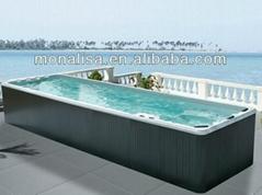 蒙娜丽莎户外浴缸独立式spa泳池按摩冲浪亚克力外贸出口M-3326