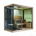 蒙娜麗莎新款高檔干濕兩用淋浴房蒸汽房桑拿房M-6032 1